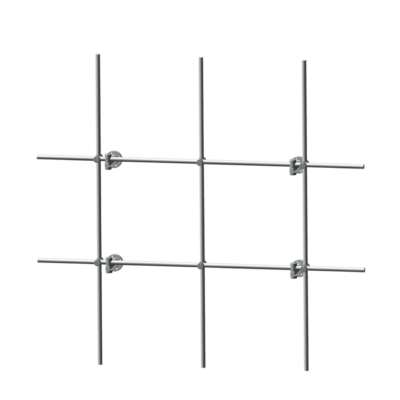 Stainless Steel Back Mount Lab Apparatus Grid