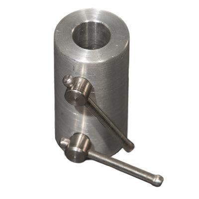 Aluminum Rod Coupler