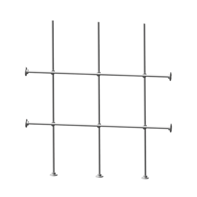 Aluminum Side and Bottom Scaffolding Kit
