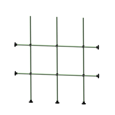 Side and Bottom Fiberglass Distillation rack kit