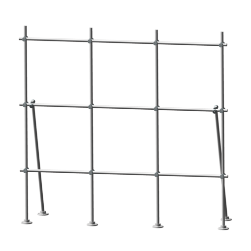 Stainless Steel Table Top Laboratory Scaffolding Kit