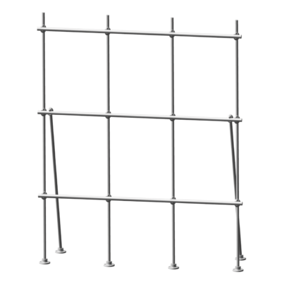 Aluminum Table Top Lab-Frame Distillation rack