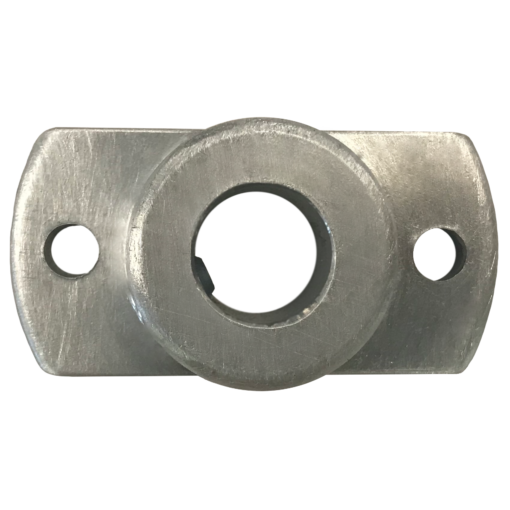 foot plate for channeling aluminum