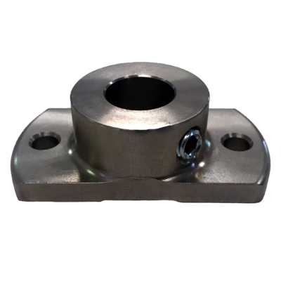 Modified Stainless steel flange for channeling