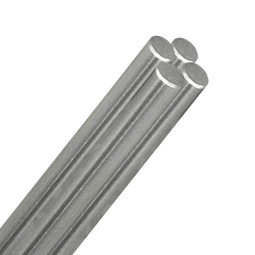"1/2"" Diameter Stainless Steel Rod"